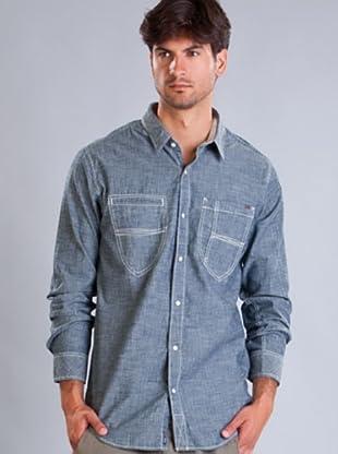 Timberland Camisa Lisa (Azul Índigo)