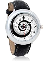 Foster's Times Spiral watch in black and white Dial Analogue Multi-Color Watch AFW0000427