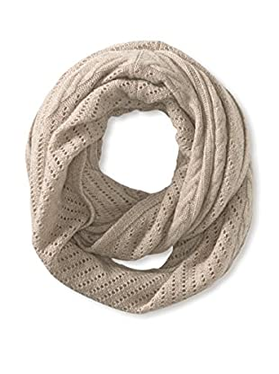 Cullen Women's Cashmere Multi-Texture Infinity Scarf, Driftwood