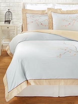 Mélange Home Sakura Duvet Cover Set (Blue)