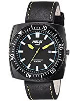 Helix Analog Black Dial Men's Watch - TI09HG01H00