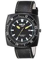 Helix Analog Black Dial Men's Watch - TI09HG01H00