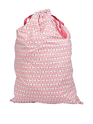 Malabar Bay Alice Coral Laundry Bag, Pink