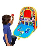 Playhut Mickey Mouse Triple Shot Game Center Playhouse