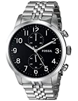 Fossil End of Season Analog Black Dial Men's Watch - FS4875