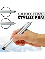 GB STYLUS PEN FOR IPHONE 3G 3GS 4 4S 5 IPAD 2 3 4 SAMSUNG HTC TOUCH TABLET SILVER
