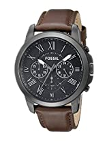 Fossil End-of-season Analog Black Dial Men's Watch - FS4885