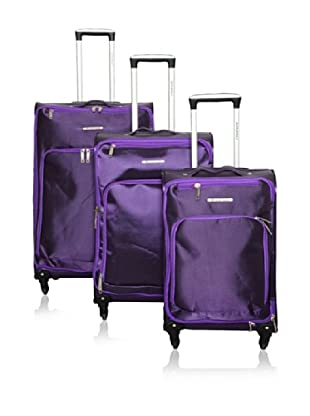 TRAVEL WORLD 3er Set Trolley