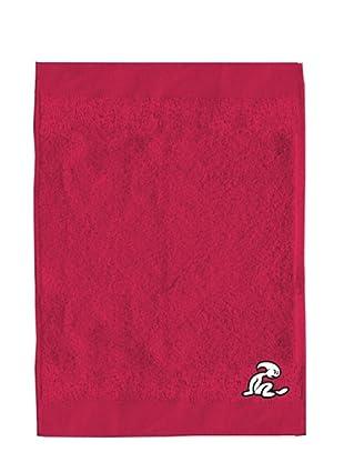 El Niño Juego de toallas Logo (fucsia)