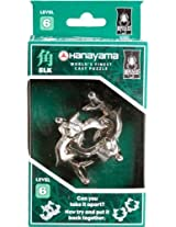 Hanayama Cast Metal Brainteaser Puzzles - Elk Puzzle (Level 6)