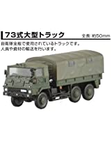 1/144? Self Defense Forces Hall Of Fame The First Bullet? 73 Equation [Heavy Truck Type 73] Heavy Duty Truck Hen 1