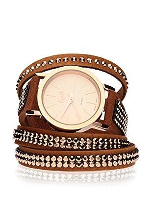 Spark Uhr mit Miyota Uhrwerk mit 2 Alcantara Armbändern  30mm