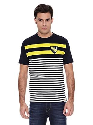 Pedro del Hierro Camiseta Rayas Posicionad (Amarillo)