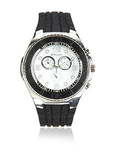 Breed Men's Rogue Black/White Polyurethane Watch