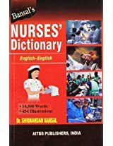 Bansal's Nurses' Dictionary - English - English