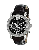 Elite Analog Black Dial Women's Watch - E1982/213