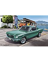 Revell Germany 1965 Ford Mustang 2+2 Fastback Plastic Model Kit (1/25 Scale)