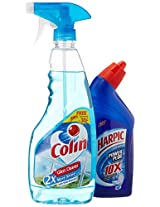 Colin Regular - 500 ml with Free Harpic - 200 ml