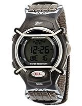 Titan Zoop Digital Grey Dial Children's Watch - C3001PV04