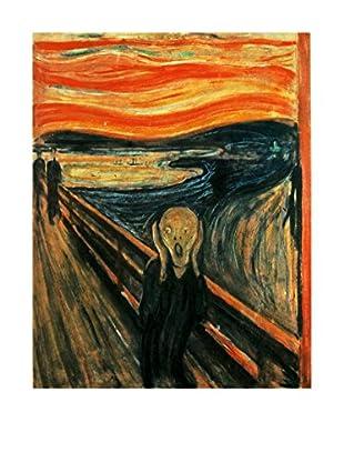 Legendarte Leinwandbild L'Urlo di Edvard Munch