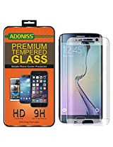 Adoniss Premium Curved Tempered Glass Screen Protector For Samsung Galaxy S6 edge Plus Clear