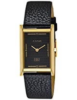 Titan Edge Analog Black Dial Men's Watch - NC1043YL06