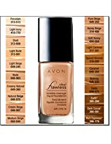 Avon Ideal Flawless Invisible Coverage Liquid Foundation SPF 15 Light Nude