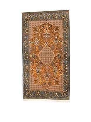 L'Eden del Tappeto Teppich Qom Sh orange/mehrfarbig 272t x t147 cm