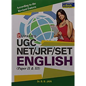 UGC NET/JRF/SET English ( Paper II & III)