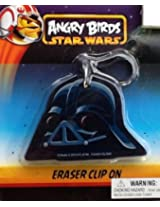 Angry Birds Star Wars Jumbo! Detailed Eraser Clip On!!!