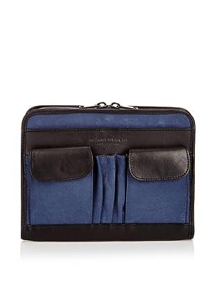 Männersache by Liebeskind Portadocumentos Tasche (Azul/Negro)