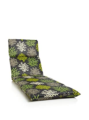 Waverly Sun-n-Shade Marine Life Chaise Lounge Cushion (Onyx)