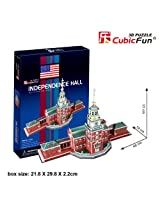 "CubicFun 3D Puzzle C-Series ""The Independence Hall - Philadelphia"""
