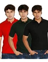 Weardo Men's Polo T-shirt - Pack of 3