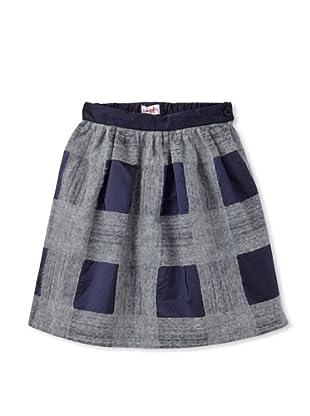 Il Gufo Girl's Full Skirt (Violet)