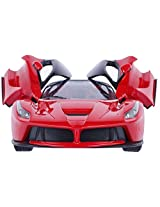Fantasy India Ferrari Style RC Rechargeable Car With Opening Doors - Red