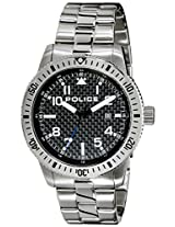 Police Analog Black Dial Men's Watch - PL13754JS02MJ