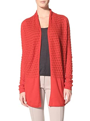 Kokun Women's Diamond Cardigan (Rouge)
