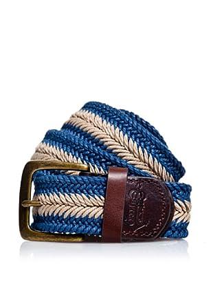 Pepe Jeans Gürtel Steven Belt (Beige/Blau)