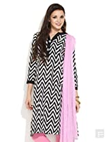 Chevron Striped Kurta