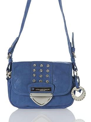 Lola Casademunt Bolso Bandolera Brillantes (Azul)