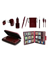 11 in 1 Starter Kit for DSi XL - Wine Red