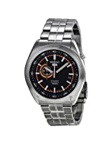 Seiko 5 Sports Black Dial Stainless Steel Automatic Men'S Watch - Se-Ssa067