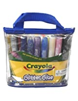 Crayola 25 Count Washable Glitter Glue Pouch Model: 69 6562, Toys & Games For Kids & Child