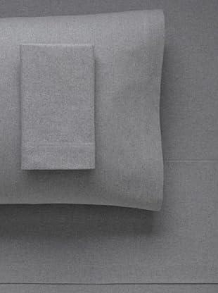 La Rochelle Heather Flannel Sheet Set (Grey)