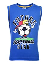 Ollypop Sleeveless T-Shirt - Future Football Star Print