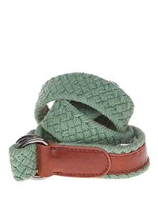Pepe Jeans London Cinturón Fresian (Verde Claro)