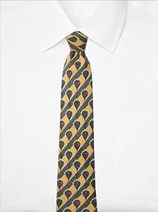 Hermès Men's Hot Air Balloon Tie, Yellow, One Size