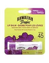 Hawaiian Tropic Tropical Lip Balm SPF 45+ Sunscreen (Pack of 6)
