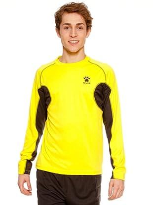 Kelme Camiseta Atletismo Ml Entreno (Amarillo)